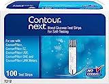 Bayer - Contour-Next - Tiras de prueba de glucosa en sangre, 100 Ea