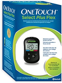 Medidor de glucosa one touch select plus